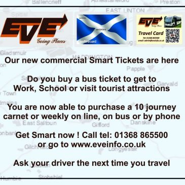 Smart Ticketing – Saltire Cards