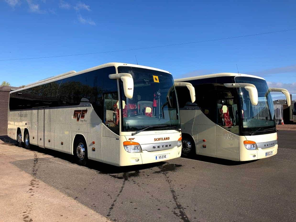 Two Setra's Join our Fleet